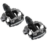 Shimano Pd M520 Mountain Bike Mtb Xc Spd Clipless Pedals - Black