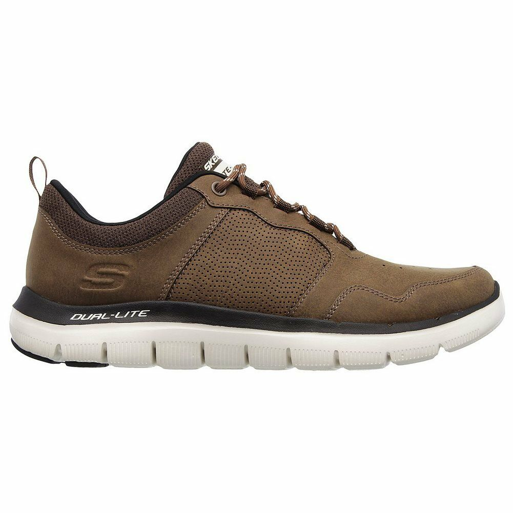 |52124-CHOC| Skechers Shoes – Flex Advantage 2.0-Dali brown 20018 Men Textile Sk Cheap women's shoes women's shoes