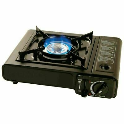 Portable Camping Gas Cooker Stove Burner Carry Bag Butane BBQ Outdoor Heater UK