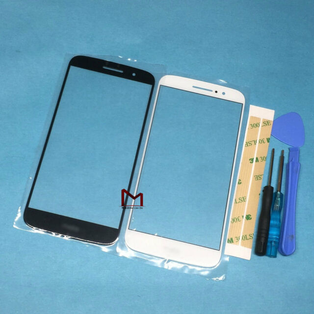 For Motorola Moto M XT1662 Front Outer Screen Glass Panel Lens Replacement