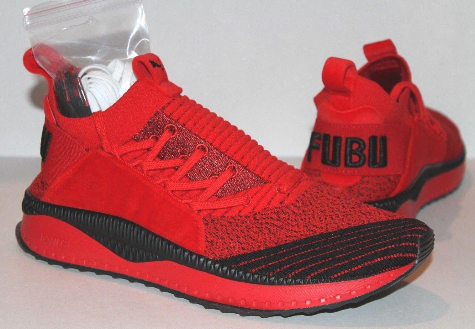 NEW PUMA X X X TSUGI JUN FUBU Men shoes 9.5 10 10.5 11 Red Black High Risk 367440-01 5ed3bb
