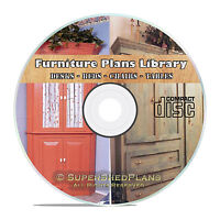 Cool Home Furniture Woodworking Plans, Office Desks, Chairs Hope Chest Beds Cd