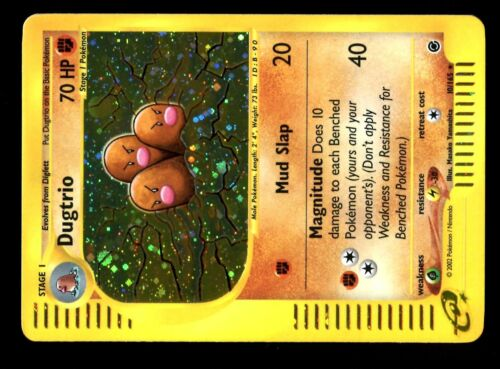 POKEMON EXPED ENG HOLO N°  10//165 DUGTRIO