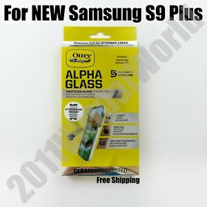 lowest price cf449 61fd7 Details about Genuine OtterBox Alpha Glass Series Screen Protector for  Samsung Galaxy S9 Plus