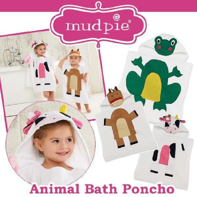 Mud Pie E0 Baby Shower Girl Gifts Boxed Set Pink Bath Towel Duck /& Cloth Defect