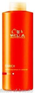 WELLA-ENRICH-Champu-3x-1000ml-1-46-100ml-thick-Pelo-Fuerte-1x-Bomba