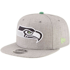 promo code 4bb05 f821a Image is loading Seattle-Seahawks-New-Era-Heather-Hype-9FIFTY-Adjustable-