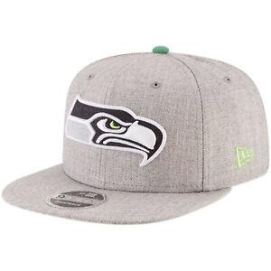 promo code 9e833 1eef5 Image is loading Seattle-Seahawks-New-Era-Heather-Hype-9FIFTY-Adjustable-