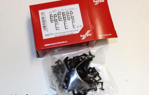 herpa 052771  LKW-Spiegel  Bestückung aktuelle Modelle  1:87 H0 NEU in OVP