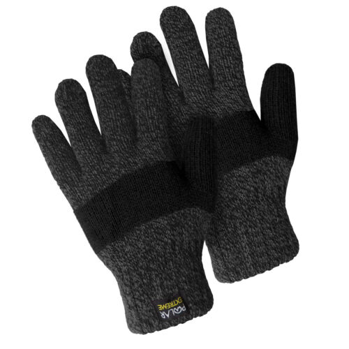 Insulated Gloves Knit Winter Gloves Thermal Insulation Women Warm