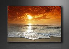 Visario Bild auf Leinwand Markenware Strand 120x80cm XXL 5038>