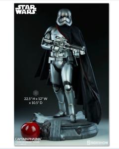stjärnornas krig Captain Phasma Premium Format Figur sideshow 300562