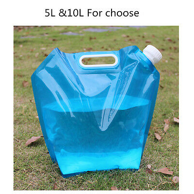 5l/10l Folding Drinking Water Container Storage Lifting Bag Camping Picnic Bbq Hohe Sicherheit Sport Camping & Outdoor