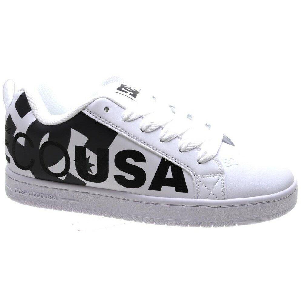 DC Court graffik se blanco   Cehombrest zapatos