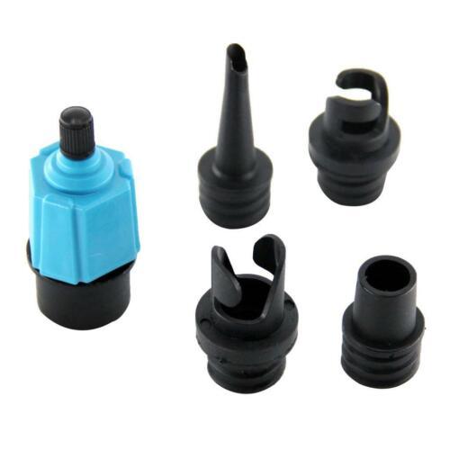 4 düsen  Pumpe Adapter Aufblasbare Boot Luft Ventil Adapter Luftmatratze