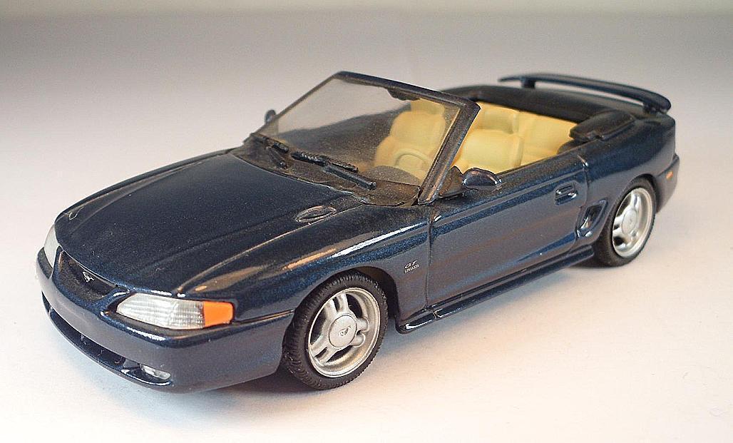 Minichamps Minichamps Minichamps PMA 1 43 Ford Mustang 1994 Cabriolet dunkelbluemetallic 2ebc33
