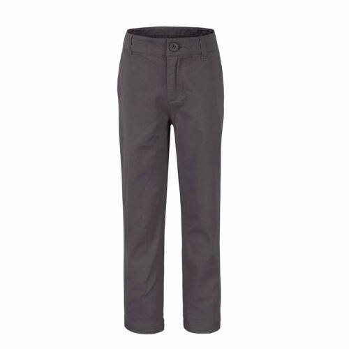 Bienzoe Big Boy/'s School Uniforms Flat Front Adjust Waist Pants Slim fit