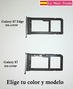 Bandeja-Nano-Sim-y-Sd-para-034-Samsung-Galaxy-S7-S7-Edge-034-Soporte-Ranura-Memoria