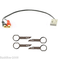 CT29AU04 AUDI A3 2006 > IPHONE IPOD MP3 AUXILIARY AUX INTERFACE CABLE&  CT22AU01
