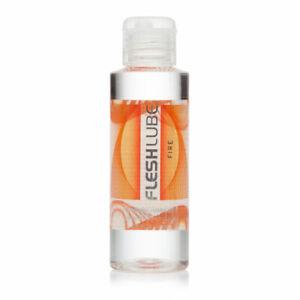Fleshlube Fire Warming Water Based Lubricant Fleshlight Sex Toy Dildo Lube 100ml