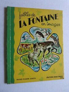 FABLES-DE-LA-FONTAINE-EN-IMAGES-par-andre-JOURCIN-EDITION-BIAS-PARIS
