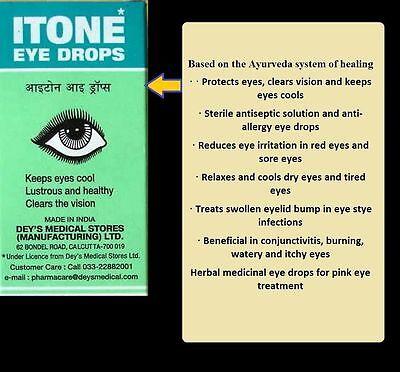BUY 5 GET 6 | Herbal Itone Eye Drops Clears Vision