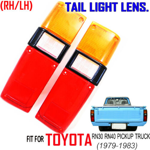 Tail Light Lamp Lens Fit 1978 79 80 81 82 1983 Toyota Hilux Pickup RN30 RN40