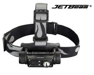 New-Jetbeam-HR30-USB-Luminus-SST40-N5-950Lumens-LED-Headlight-NO-Battery