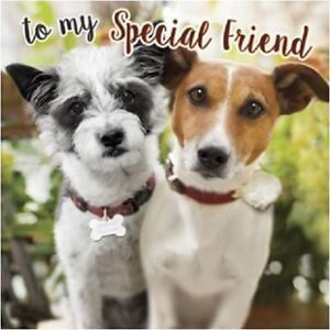Image Is Loading To My Special Friend Jack Russell Birthday Greeting