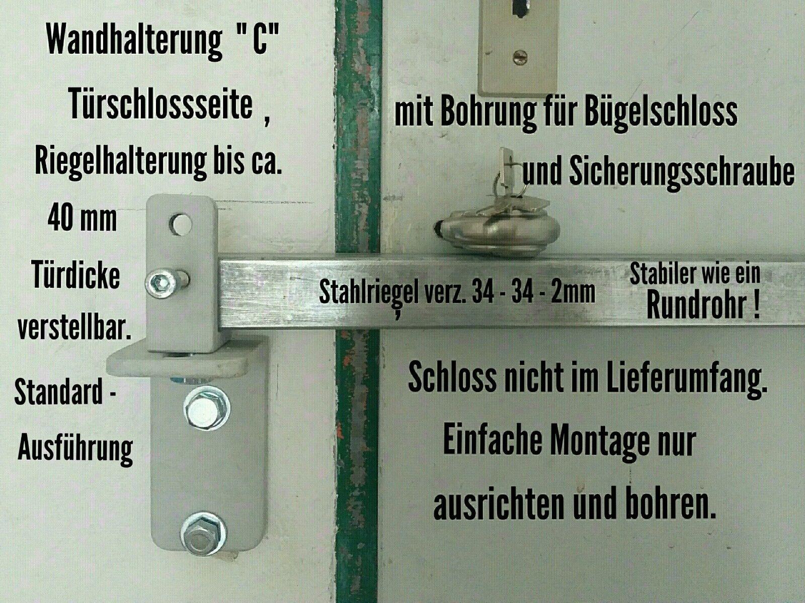 Einbruchschutz, Türsicherung für innen aufgehende Türen, Panzerriegel, Stange    | Queensland  | Reparieren  | Kaufen  | Sale Deutschland  2b1ec7