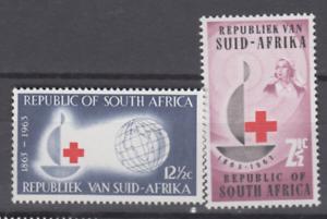 PP274-RSA-SOUTH-AFRICA-1963-100TH-ANNIVERSARY-RED-CROSS-2V-MNH