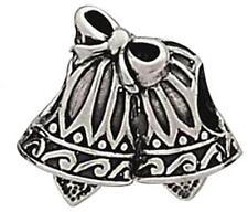 925 sterling silver bells European charm bead -marriage Christmas church wedding