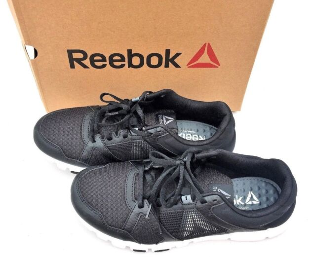 3cce7d042057e5 Reebok Yourflex Train 10 MT Bs9882 Black White Alloy Textile Shoes ...