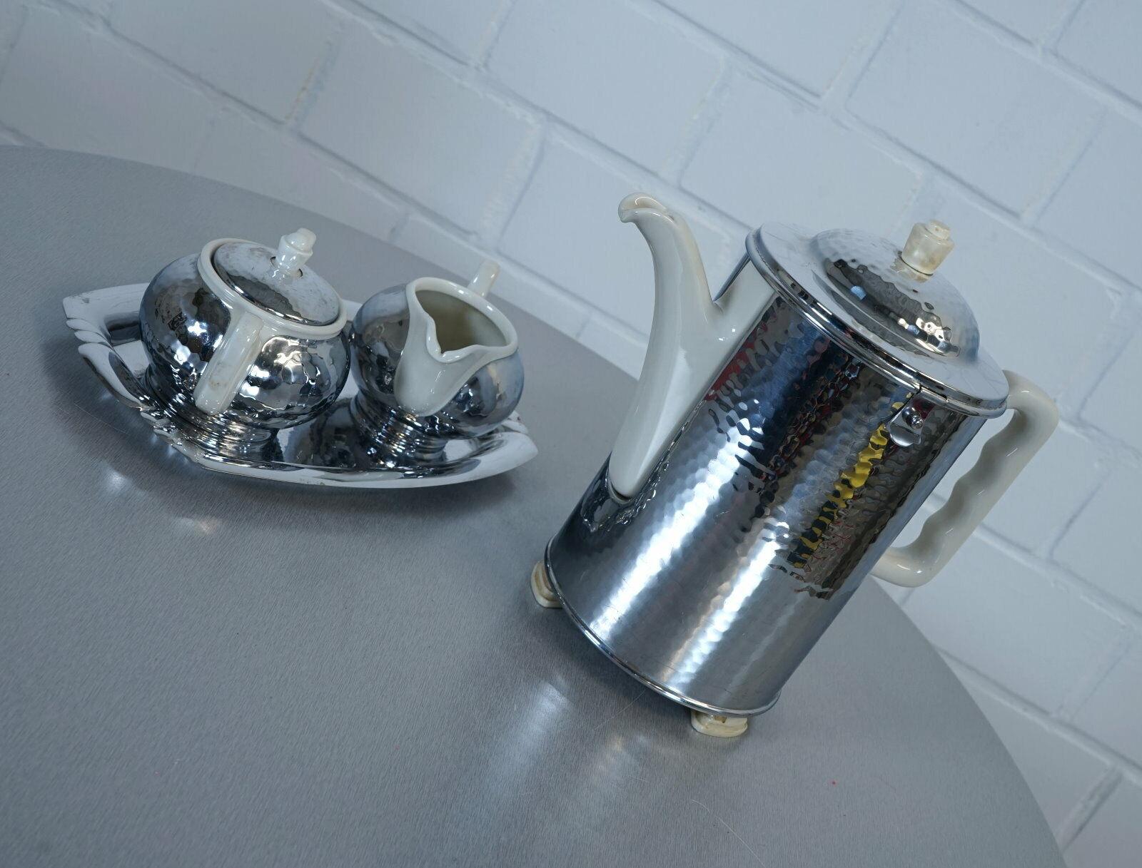 Furstenberg sus thermisol kaffeekern café sucre du lait Art Deco années 30er RAR