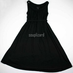 New-Women-039-s-Maternity-Braided-Sun-Dress-Black-NWT-Liz-Lange-Sz-Size-XS-S-M