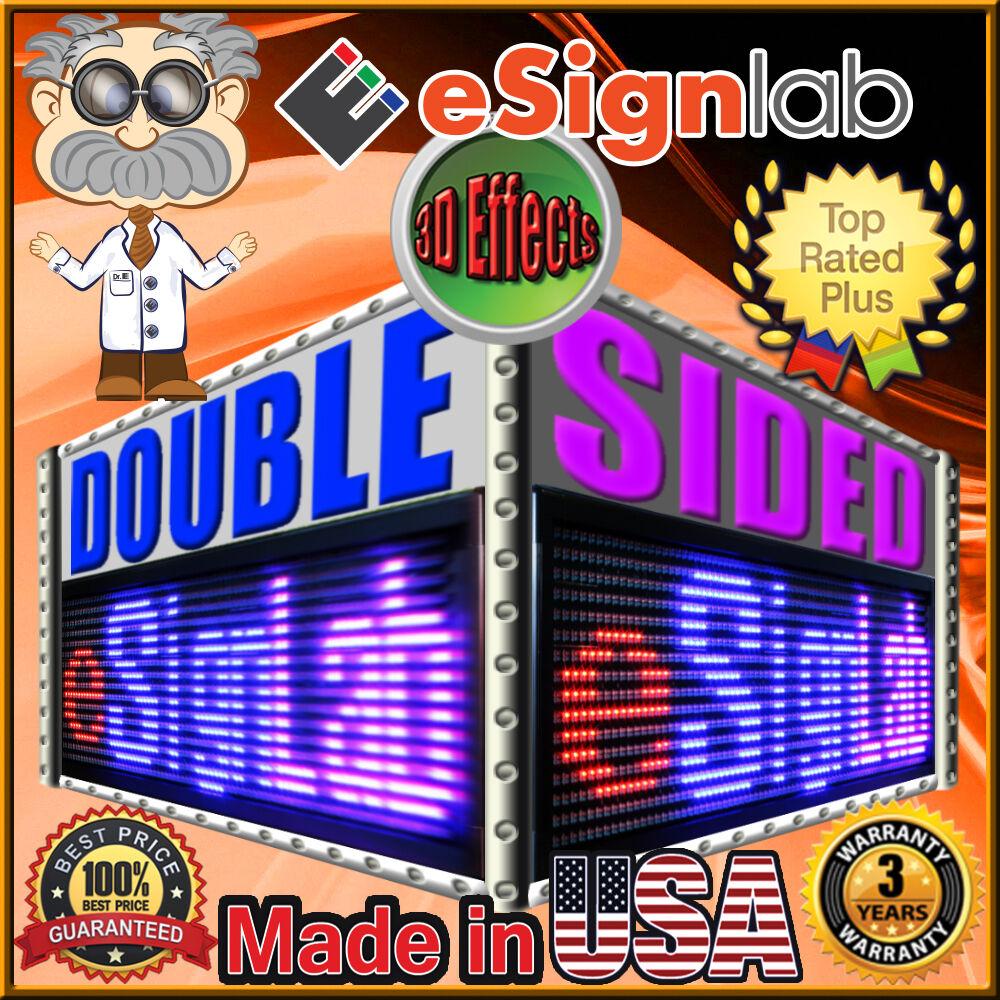 16  x 53  Double-Sided Double Case RBP + RBP Remote Control Programmable LED