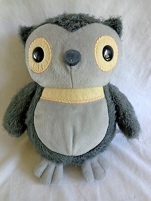 "GRAY OWL Aesops Fables 9.5"" Plush Kohl's Cares 2012 Stuffed Animal Toy"