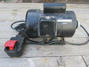 Details About Delta Rockford Table Saw Motor 1 5hp Rpm 3450 Hz60 Part 902905