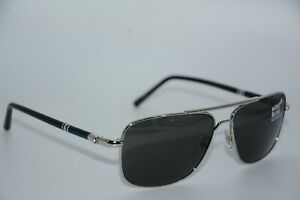 ecd573ee5d3fe NEW MONT BLANC MB 508S 16A SILVER AUTHENTIC SUNGLASSES W CASE 60-14 ...