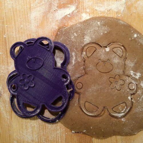 Teddy Bear cookie stamp Animal cookies. Teddy Bear cookie cutter