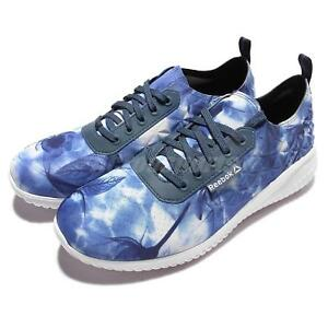Reebok Skyscape Revolution Blue Navy White Womens Running Shoes Sneakers AR3132 y5y8oA