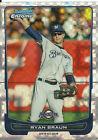 2012 Bowman Ryan Braun #174 Baseball Card