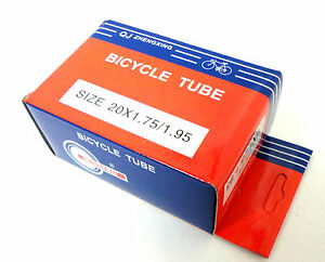 "20/"" x 1.75 1.95 Bicycle Tube Interior Bike Tire Inner tube 20 inches New"