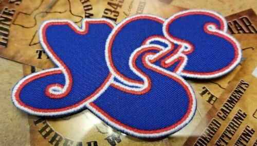 EMBROIDERED YES ROCK BAND PATCH