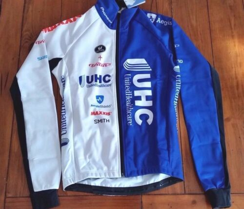 UHC UnitedHealthcare Vermarc Wilier Windtex Thermal Waterproof Jacket XS