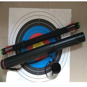 Arrows-Back-Quiver-Tube-Case-Holder-Internal-Capsule-Arrow-Rack-Archery-Hunting