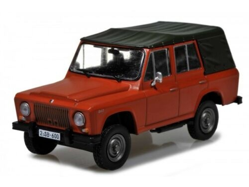 ARO 241 RDT del veicolo Modello 1:43 Atlas rivista modello
