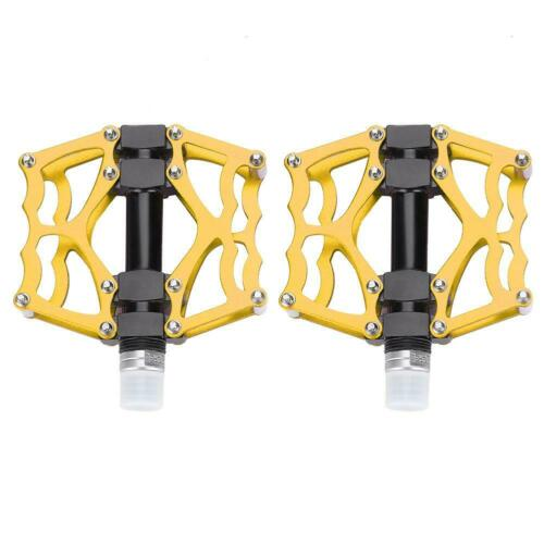 1 Pair Mountain Bike Road Bicycle Lightweight Pedals Aluminium Alloy Replacement
