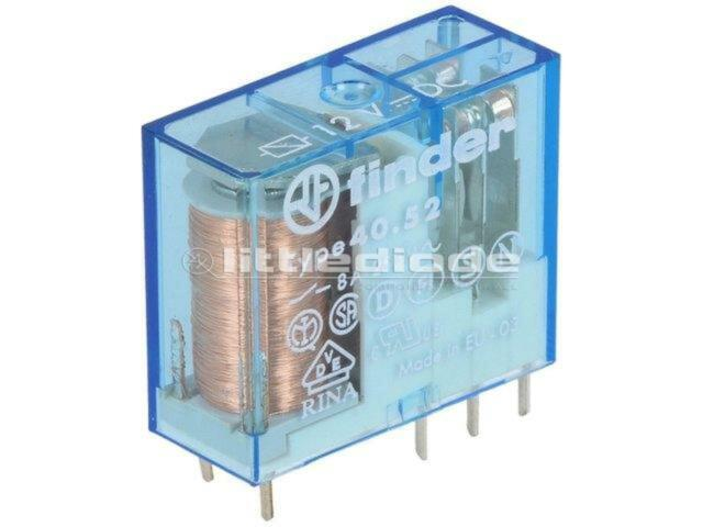 40.52.6.012.000 Relay electromagnetic DPDT Ucoil12VDC 8A/250VAC 40.52.6.012.0000