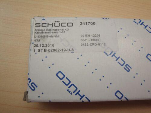 Schüco rohrrahmen Serrure Loquet-Pièges château Nº 241700 2117 08